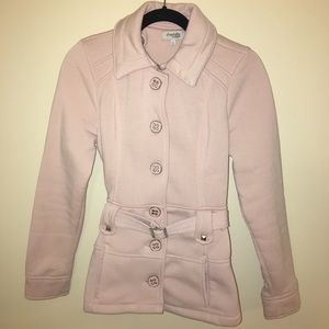 Charlotte Russe Cream Button Jacket